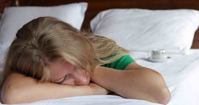 Девушка отдыхает