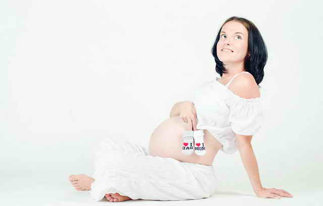 Беременность на последних неделях