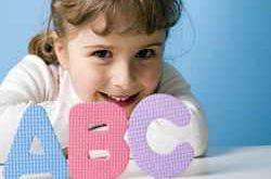 Ребенок и буквы
