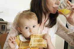 Питание мамы и ребенка