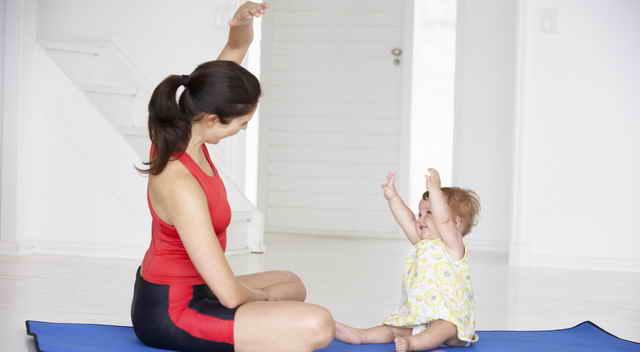 Гимнастика для мамы