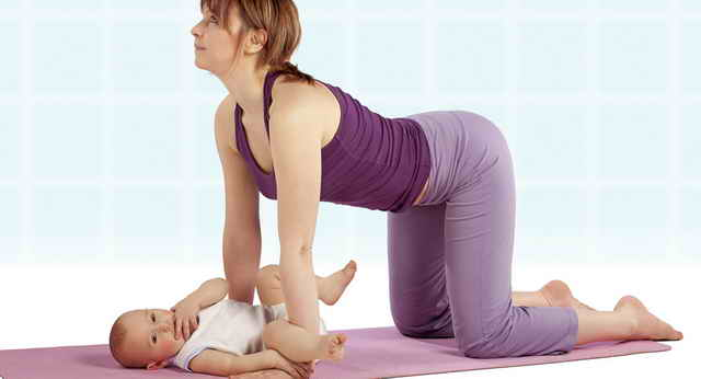 Упражнения для мам