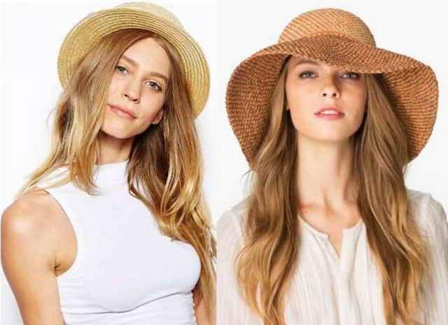 Шляпы в женском образе