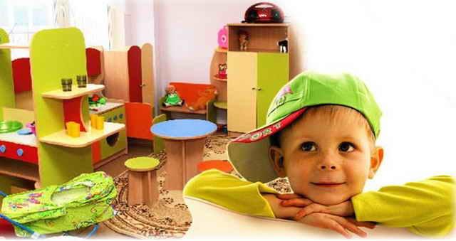 Мальчик в детском саду