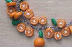 Браслет с апельсинами
