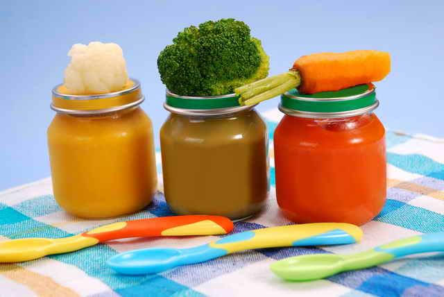 Овощное пюре для детей