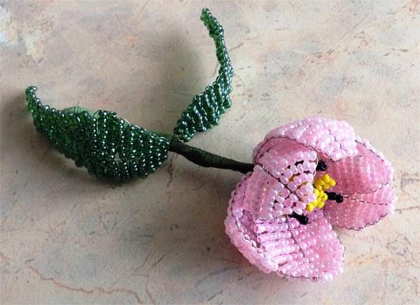 Бисерный тюльпан