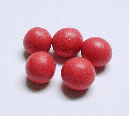 Шарики из полимерной глины
