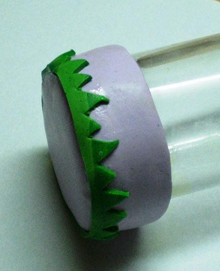 Основа для игольницы из пластики