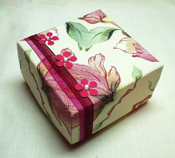Декор коробки