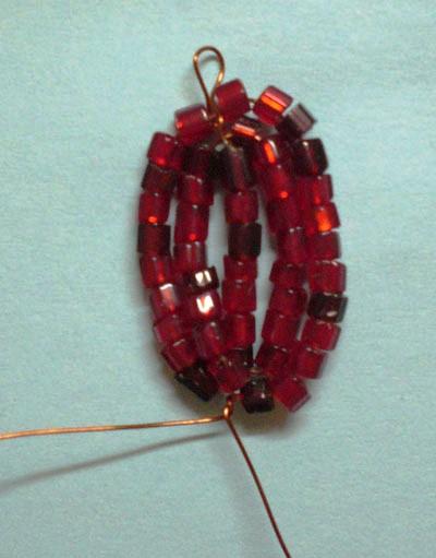 Плетение из стекляруса